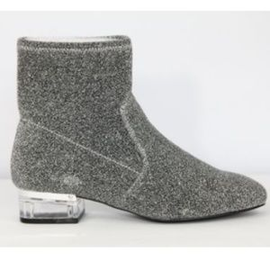 Nine West Boots Fashion Booties Silver New